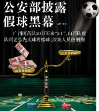 Fussballskandal in China