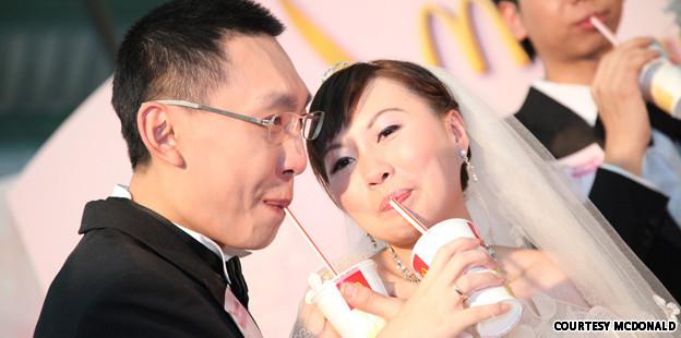 Hochzeit bei McDonald's