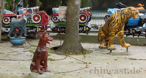 Im chinesischen Freizeitpark