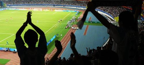 Länderspiel in Shanghai