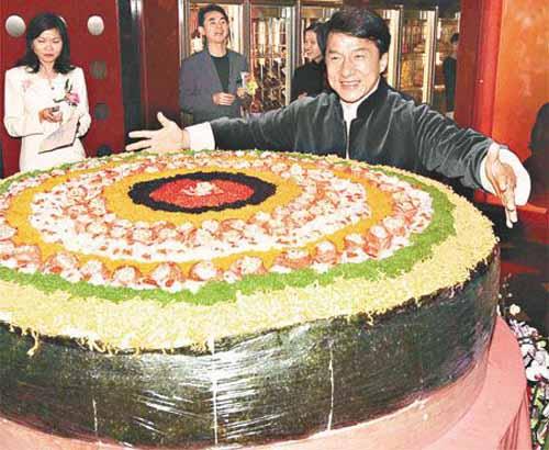 Das größte Sushi der Welt