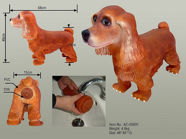 Sexpuppe für den Hund