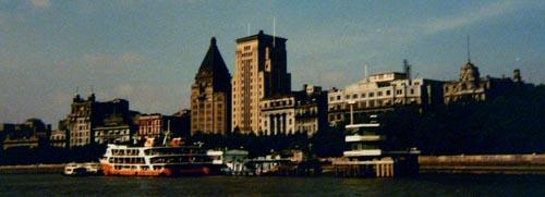Blick auf den Bund - Shanghai 1981